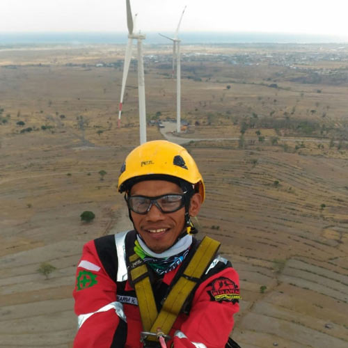 indonesia rope access